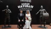 Edirne'de Rumeli ve Balkan düğünlerinin anlatıldığı Etnografya Müzesi'nde ilk nikah kıyıldı