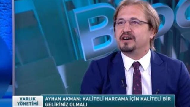 Futbol yorumcusu Ayhan Akman'ın ekonomi kanalında tavsiye vermesi mizah konusu oldu