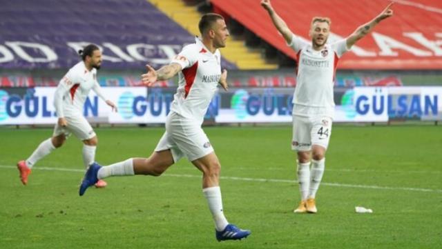 Gaziantep FK evinde Gençlerbirliği'ni 2-1 mağlup etti