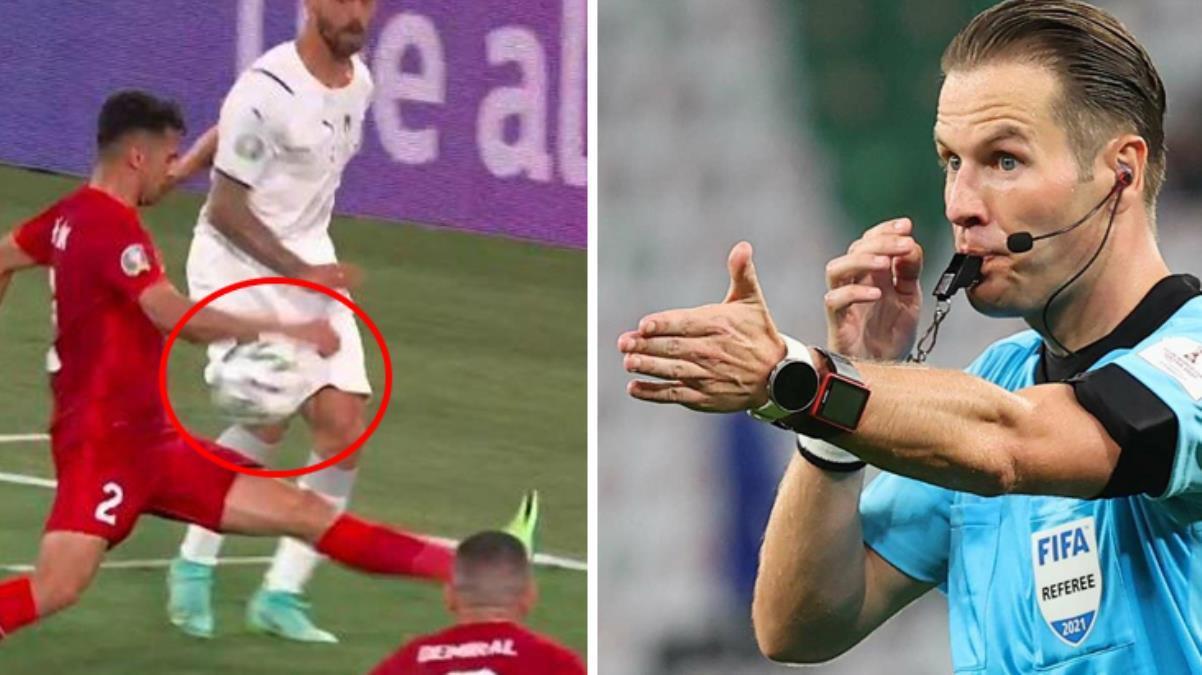 Hakem, Zeki Çelik'in pozisyonuna neden penaltı vermedi? Olayın perde arkasında hakem değil yeni kural var