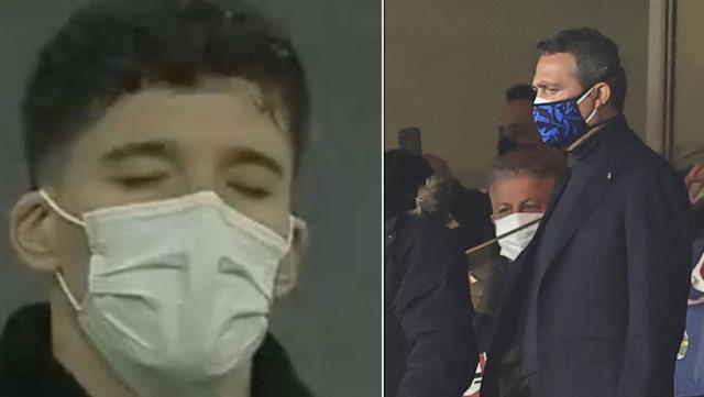 Harun'un hatası sonrası maçı tribünden izleyen Altay Bayındır ve Başkan Ali Koç yıkıldı