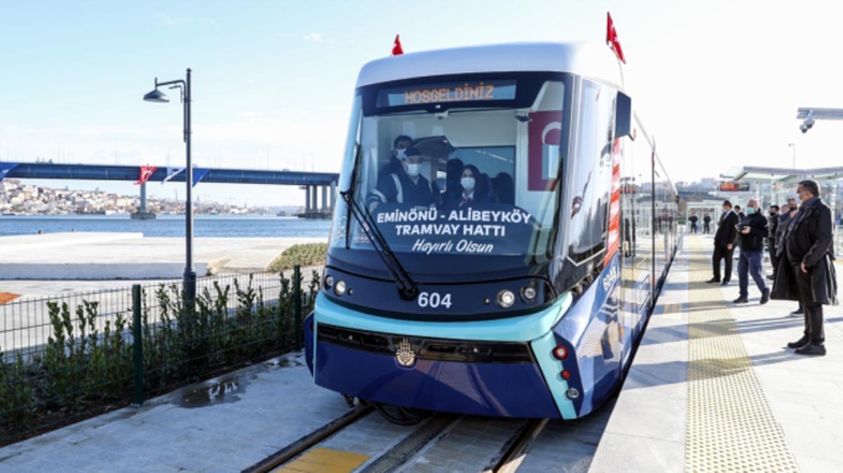 İBB, Eminönü-Alibeyköy tramway hattını tamamlamak için Fransa'dan kredi alacak