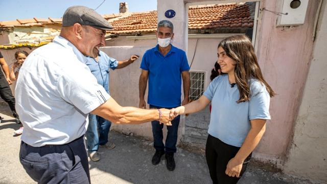 Kadifekale'ye sürpriz ziyaret