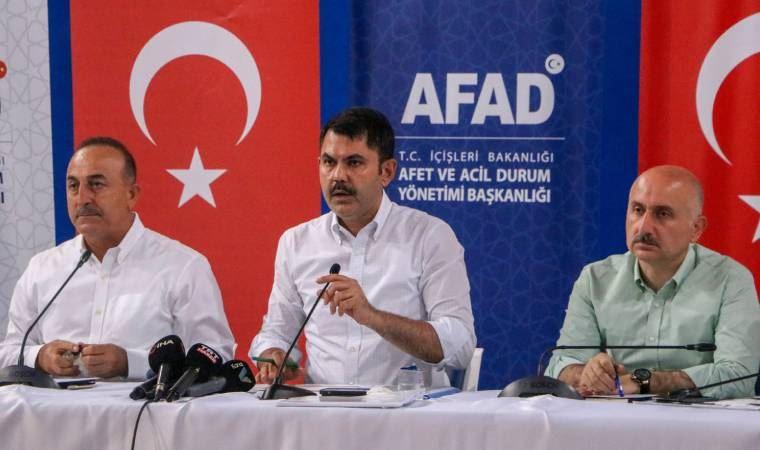 """Dışişleri Bakanı Mevlüt Çavuşoğlu: """"Pakistan, Polonya, Gürcistan, Kazakistan, Bosna Hersek, ABD, Kanada ve Japonya'dan bazı yardım teklifleri geldi."""""""