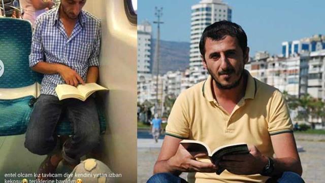 Kitap okurken fotoğrafı çekilip aşağılanan Ali Uçar, yazar oldu