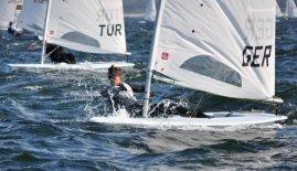 Yelkende 21 Yaş Altı Avrupa Laser Şampiyonası,Karadağ'da yapıldı