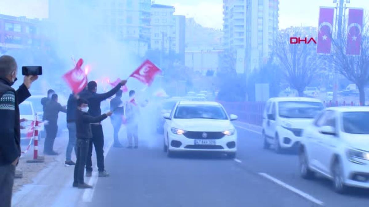 MARDİN Yeniden Refah Partisi Genel Başkanı Erbakan, Mardin'de