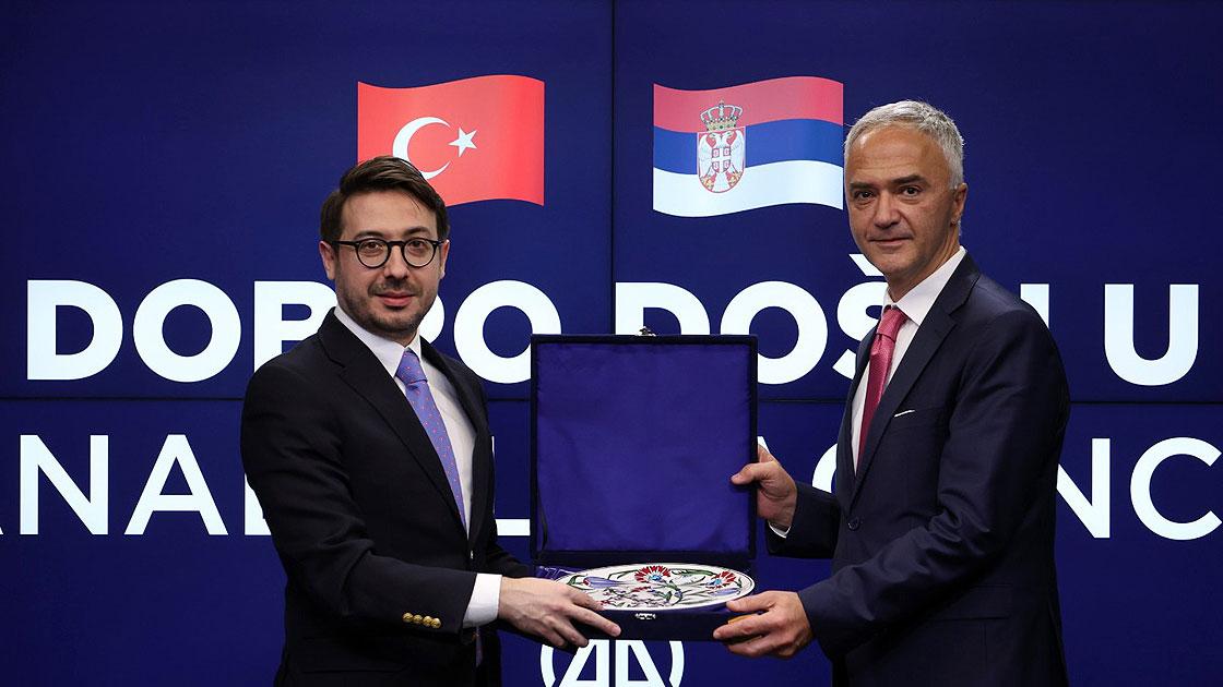 Sırbistan'ın Ankara Büyükelçisi Markovic, AA'yı ziyaret etti