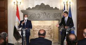 Miçotakis ile Sisi bir araya geldi: Mısır'daki görüşmede Türkiye de gündeme geldi