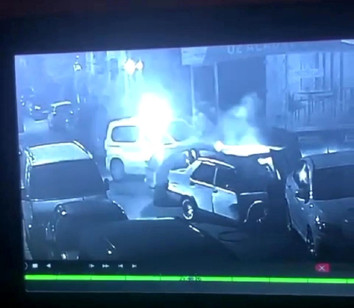 Polisten kaçan şüpheli, seyir halindeki araca böyle çarptı: 3 yaralı
