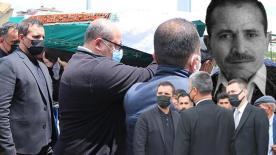 Rafet El Roman'ın en acı günü! Babası son yolculuğa uğurlandı