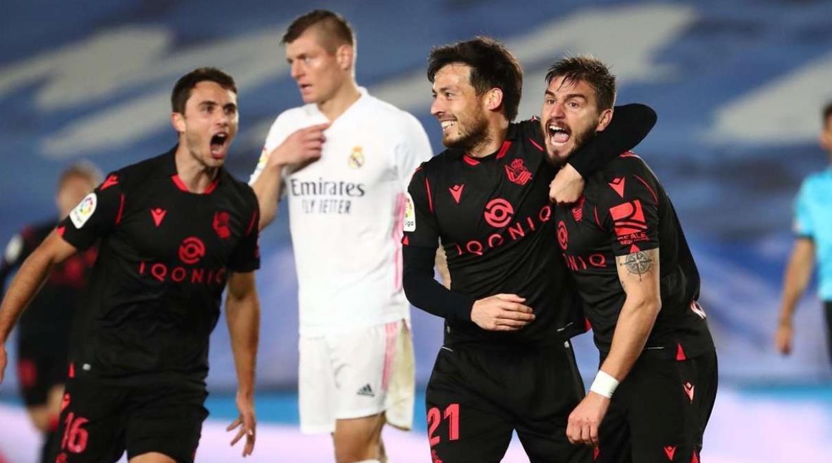 Real Madrid sahasında Real Sociedad ile berabere kaldı