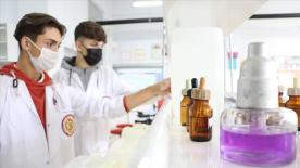 Sakarya'da hijyen malzemesi üreten meslek lisesi ilk ihracatını yaptı