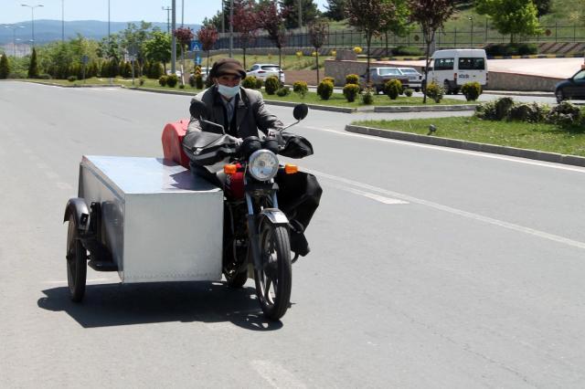 Sıfır aldığı motosikleti başına bela oldu! Hiç gitmediği Samsun'dan ceza geldi