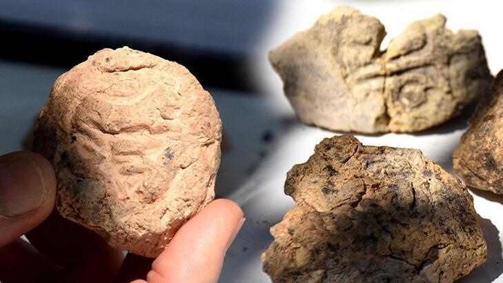 Son dakika… Arslantepe'de 5 bin 621 yıllık 250 mühür bulundu!