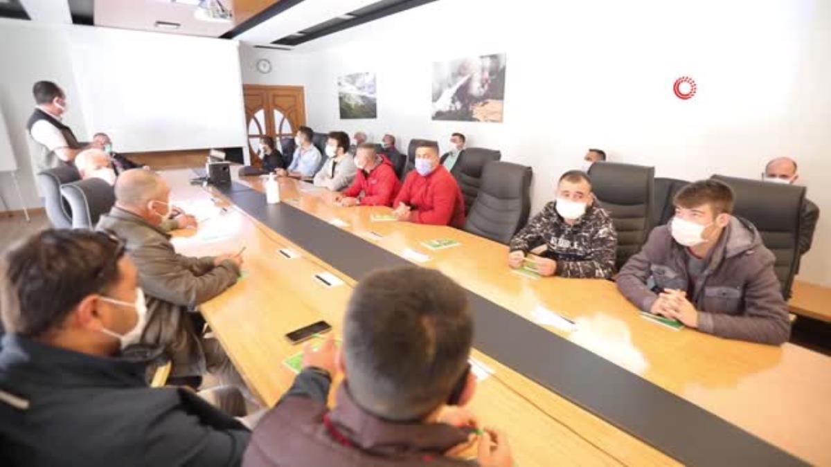 Son dakika haber… İzmir ormanlarının gönüllü ateş savaşçıları eğitimde