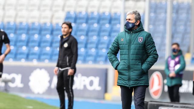 """Son şampiyon Başakşehir düşme hattında yine kayıp verdi ve maçın ardından Aykut Kocaman, """"Sonuçtan memnunum"""" dedi"""