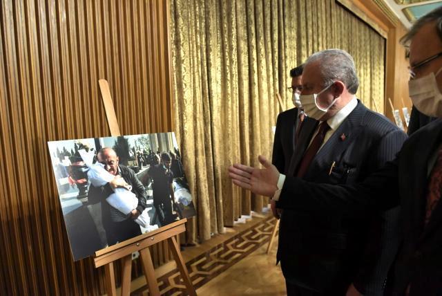 """TBMM Başkanı Şentop: """"(Biden'ın açıklaması) Türkiye bugün çok daha güçlüdür; dünyada ve bölgesinde çok daha etkilidir"""
