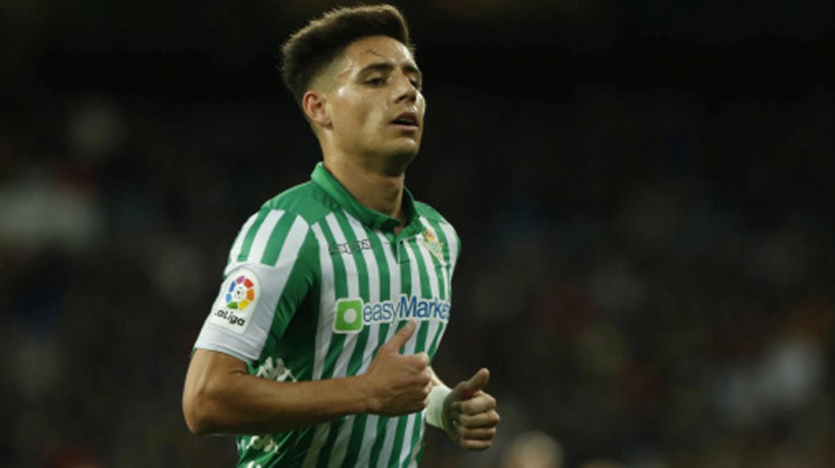 Transfere hızlı giren Cim-Bom, önümüzdeki hafta Betis'in sol beki Alex Moreno'yu getiriyor