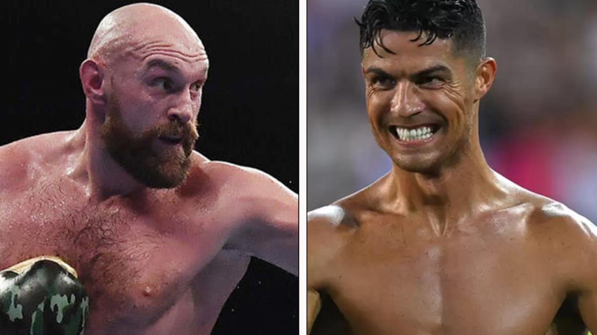 Wilder'ı perişan etmişti! Tyson Fury'den Cristiano Ronaldo'ya tehdit