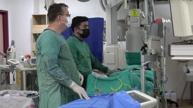 ZBEÜ doktorlarından kalp hastalığında başarı oranı yüzde 98'lik uygulama