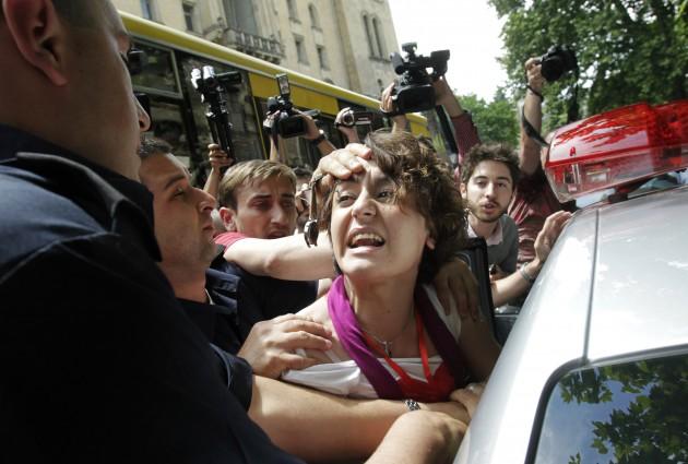 Gay Pride Tbilisi (Photo credit: Delfi.lv)