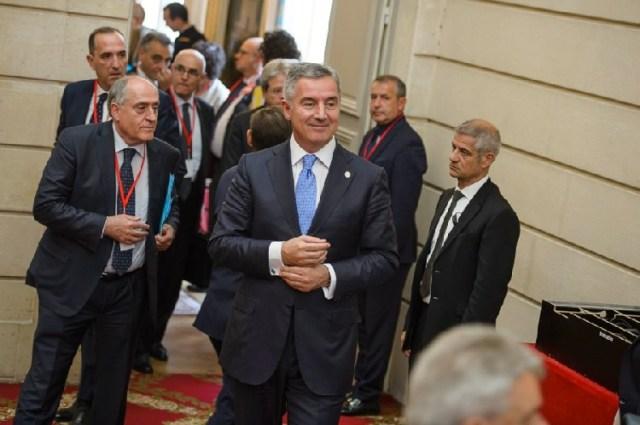 Премьер Черногории Мило Джуканович в Париже. Фото: Vlada CG
