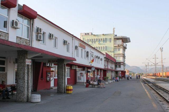 Железнодорожная станция в Подгорице. Фото: Commons.wikimedia.org