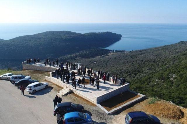 Смотровая площадка с видом на бухту Вальданос. Фото: Vijesti, TO Ulcinj