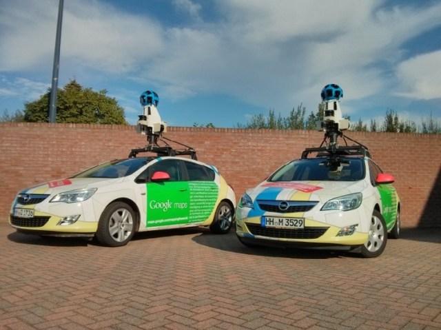 Автомобили Google Street View. Фото: Vesti.mk
