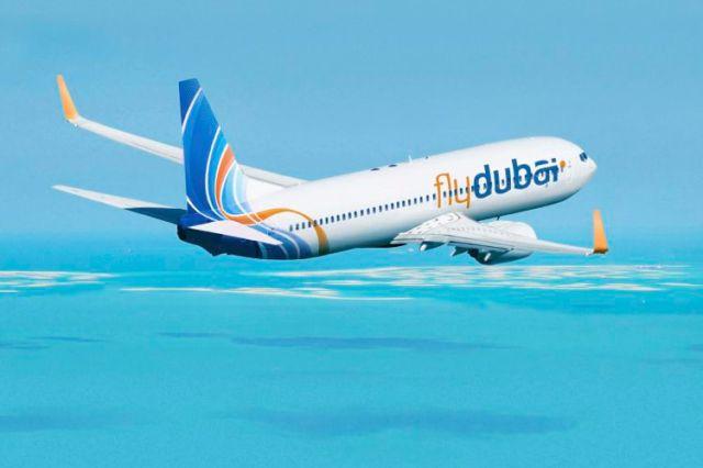 Самолет авиакомпании Flydubai. Фото: Mldl.ir