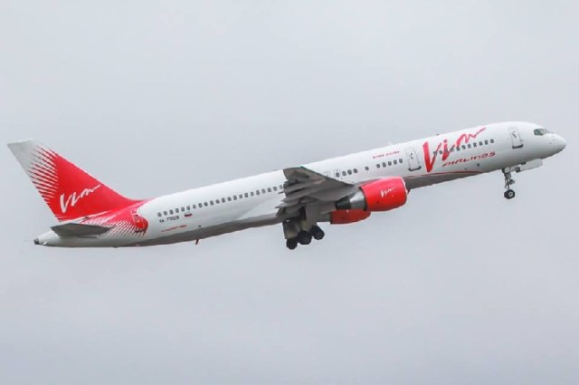 Самолет авиакомпании VIM-Avia. Фото: Facebook, VIM-AVIA