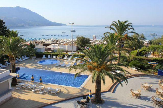Отель Montenegro в Бечичи. Фото: Montenegrostars.com