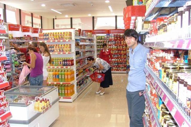 Супермаркет в г. Жабляк. Фото: Vijesti