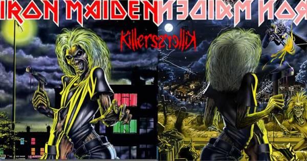 Iron Maiden Killers reverse
