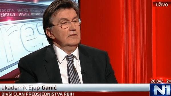 Ejup Ganić: Ako ode Republika Srpska, cepa se i Srbija