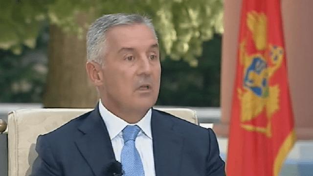 Đukanović: Srbija krenula u medijsko-političku ofanzivu na Crnu Goru kao devedesetih