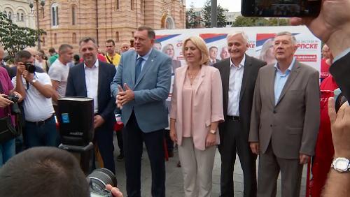 Dodik: Neću da podržim tužbu protiv Hrvatske
