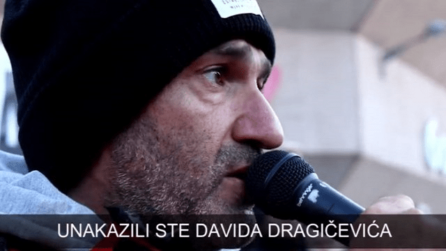 "Davor Dragićević: ""Najbolje bi bilo, ubijte me što pre… Idem do kraja"""