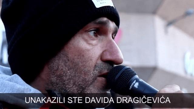 Dragičević: Nisu uspeli da me likvidiraju, ostaje pitanje ko je ubio Davida