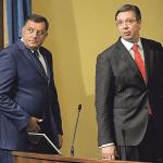 Dodik pisao Vučiću da odloži posetu Istočnom Sarajevu, Vučić prihvatio