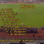 Hrvatska reprezentacija još 1990., dok je postojala SFRJ, odigrala prvi meč sa SAD