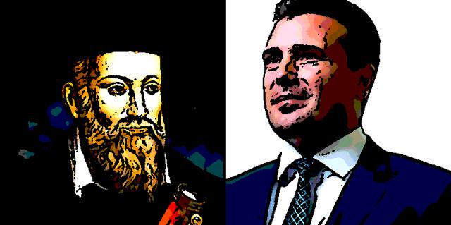 Nostradamus: Doći će vreme kada će Makedonijom vladati nesposoban i štetočinski vladar...