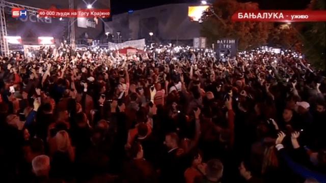 Na Trgu Krajine i danas se tražila pravda za Davida (VIDEO)