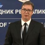 Vučić sa Fabricijem: Očekujem da EU uloži dodatne napore da Prištinu navede da povuče odluku