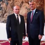 Tači o susretu sa Putinom: Korak napred u odnosima sa Rusijom