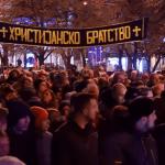 "VMRO-DPMNE održala protest u Skoplju: ""Idemo do kraja, a kraj će biti kada padne Zoran Zaev"""