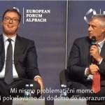 Tači se nada sporazumu sa Srbijom ove godine