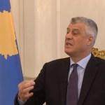 Tači: Nadam se da će Srbija i Kosovo ove godine postići sporazum