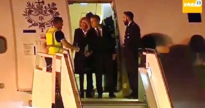 Zapišavanje Makrona: Na aerodromu u Buenos Airesu ga dočekali zaposleni